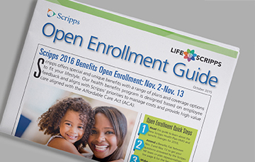 Tabloid Style Enrollment Guide
